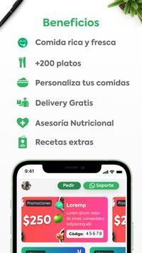 Manzana Verde - Comida saludable para bajar peso स्क्रीनशॉट 2