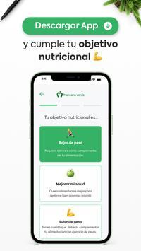 Manzana Verde - Comida saludable para bajar peso स्क्रीनशॉट 3