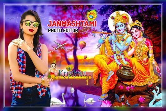 Janmashtami photo Frame 2019:Krishna photo Frames poster