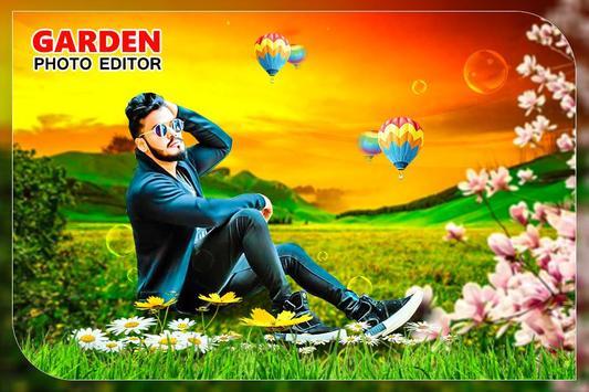 Garden Photo Editor: Garden photo frame screenshot 2