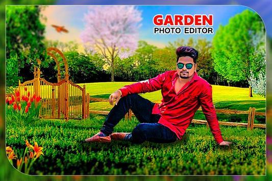 Garden Photo Editor: Garden photo frame screenshot 3