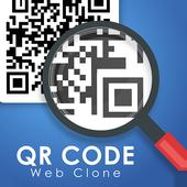 QR scanner : Web Clone icon