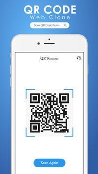 QR scanner : Web Clone screenshot 3