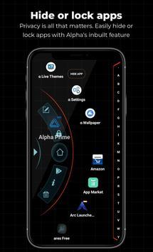 Alpha Hybrid Launcher screenshot 1