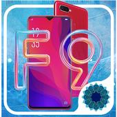 Oppo F9 launcher , Oppo F9 theme icon