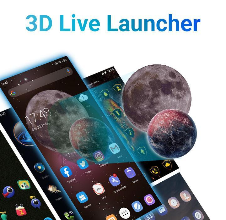 Your Perfect 3D Live Launcher For Android