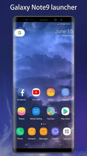 Note 9 Launcher - Galaxy Note8 | Note9 launcher UI for Android - APK