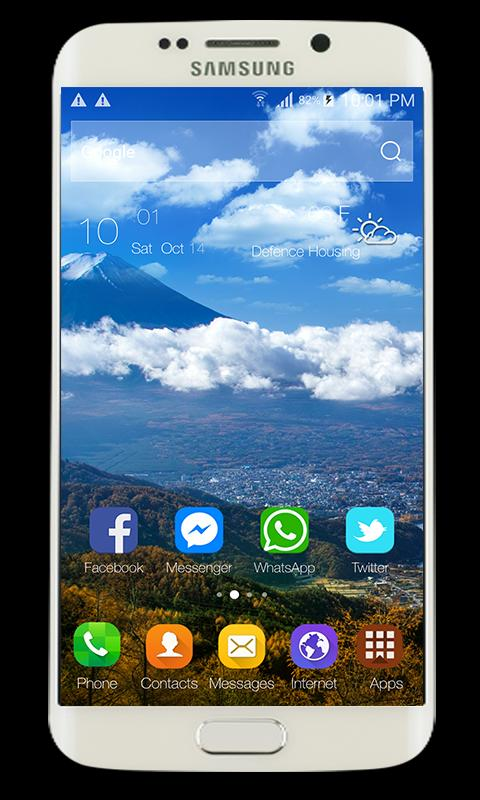 Launcher & Theme Galaxy J7 Pro for Android - APK Download
