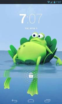 Lazy Frog Live Wallpaper poster