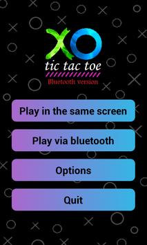 XO Game bluetooth poster