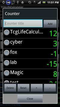 TCGLifeCalculator screenshot 6