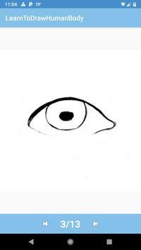 Learn To Draw Human Body screenshot 5