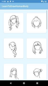 Learn To Draw Human Body screenshot 1