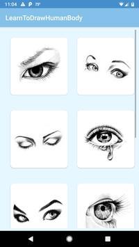 Learn To Draw Human Body screenshot 2