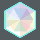 Kaleidoscopic-icoon