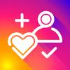 Likes + followers on IG icon
