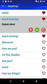 Learn Czech Fast and Free screenshot 1