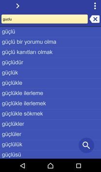 Turkish Urdu dictionary poster