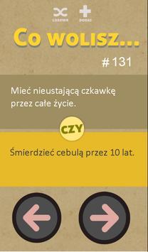 Co Wolisz? screenshot 1