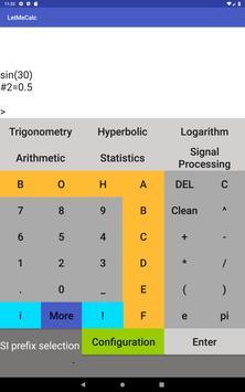 Advanced Trigonometry Calculator screenshot 8