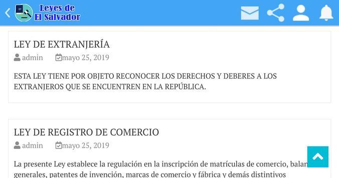 Leyes de El Salvador screenshot 11