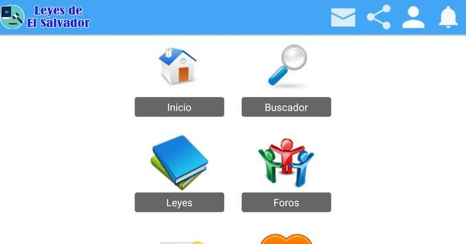 Leyes de El Salvador screenshot 7