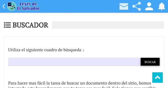 Leyes de El Salvador screenshot 8