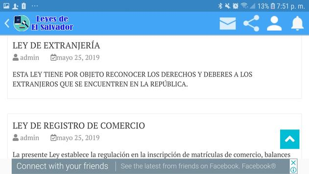 Leyes de El Salvador screenshot 9