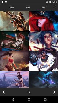 LOL Wallpapers HD(League of Game Fans Original) screenshot 4