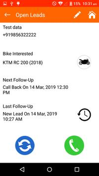 KTM Leadstrax screenshot 6