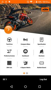 KTM Leadstrax poster