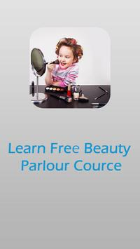 Learn free beauty parlour poster
