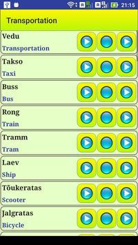 Learn Estonian language screenshot 15