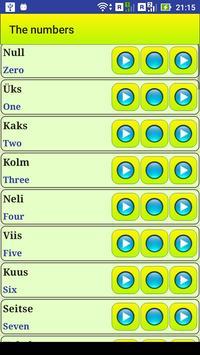 Learn Estonian language screenshot 13