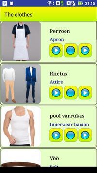 Learn Estonian language screenshot 2