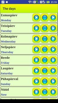 Learn Estonian language screenshot 9