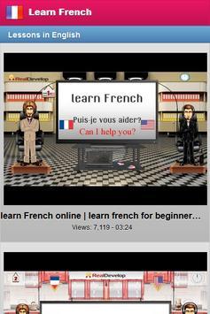 Learn French Free screenshot 1