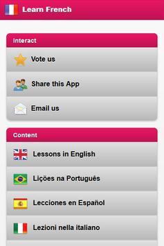 Learn French Free screenshot 2