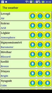Learn Hungarian language screenshot 12