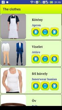 Learn Hungarian language screenshot 2