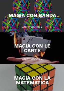 Poster facile da imparare trucchi magici