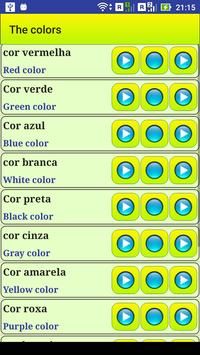 Learn Portuguese language screenshot 10