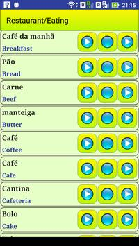 Learn Portuguese language screenshot 11