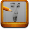 How to draw a face step by step ikona