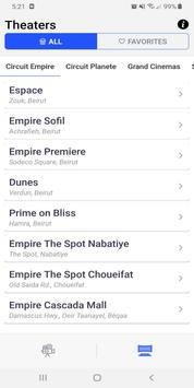 Lebanon Movies Guide screenshot 5