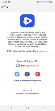 Lebanon Movies Guide screenshot 7