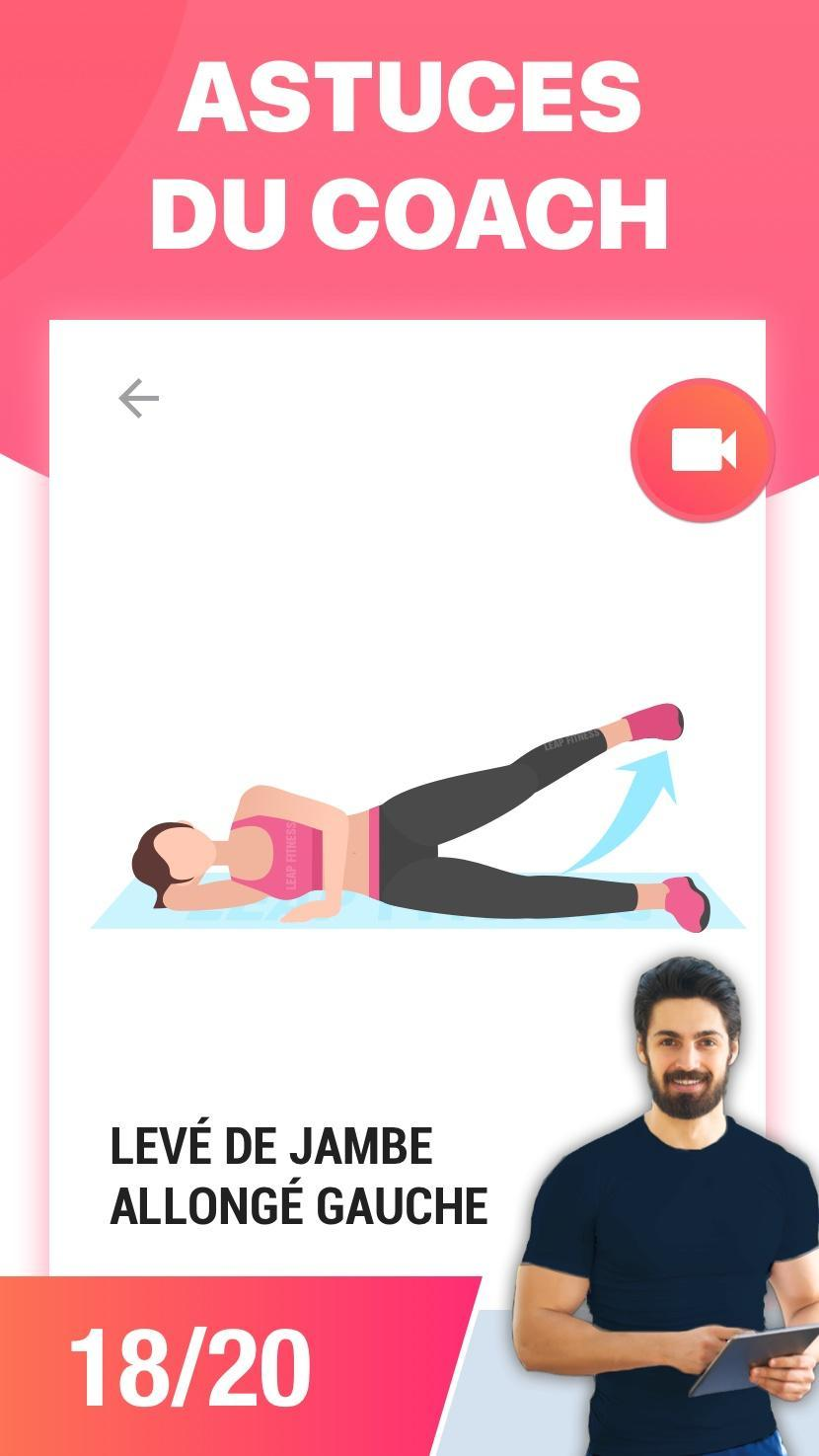 Exercices Jambes pour Affiner les Cuisses pour Android ...