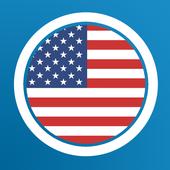 Amerikanisch Lernen - Grammatik, Vokabeln आइकन