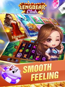 Lengbear Club - Dragon Tiger, Tien Len, Slots screenshot 1