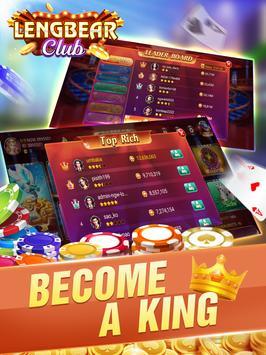 Lengbear Club - Dragon Tiger, Tien Len, Slots screenshot 9